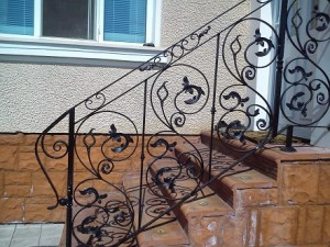 външни парапети за стълби