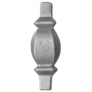 елементи за вграждане от ковано желязо
