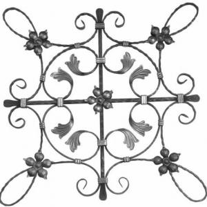 метални пана от ковано желязо