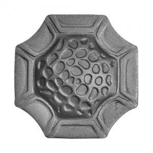 метални розетки от ковано желязо