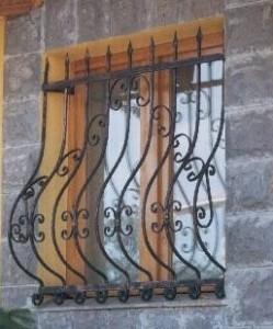 решетки за прозорци от ковано желязо