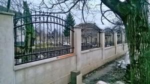 с.Бутан Мизия ограда от ковано желязо