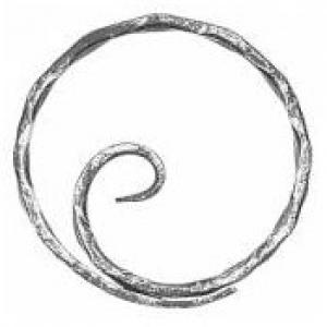 декоративен кръг тип охлюв