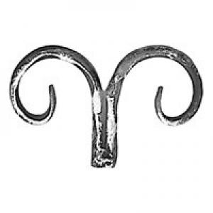 метален елемент от ковано желязо
