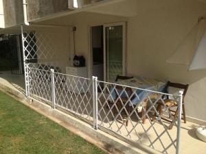 градински метални огради