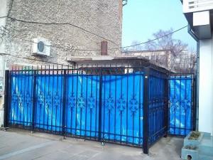 ограда от ковано желязо Мездра