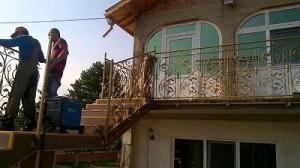 метален стълбищен парапет Липница Мизия
