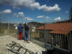 vraca metalna ograda