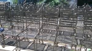 Столове за заведения от ковано желязо