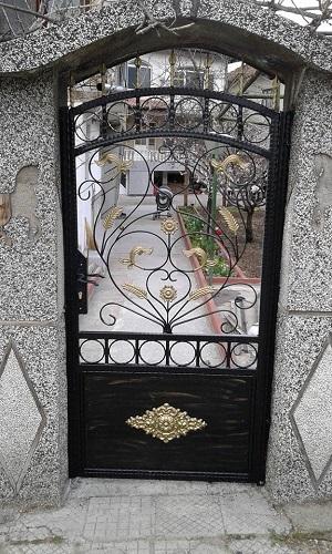 врата от ковано желязо в пирдоп