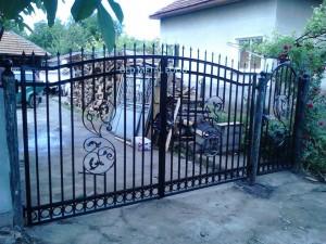luksozna metalna porta