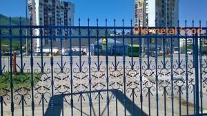 perfektna metalna ograda