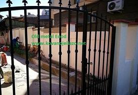 гаражна порта и врата от ковано желязо