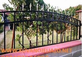 Ограда от ковано желязо в с.Манастирище